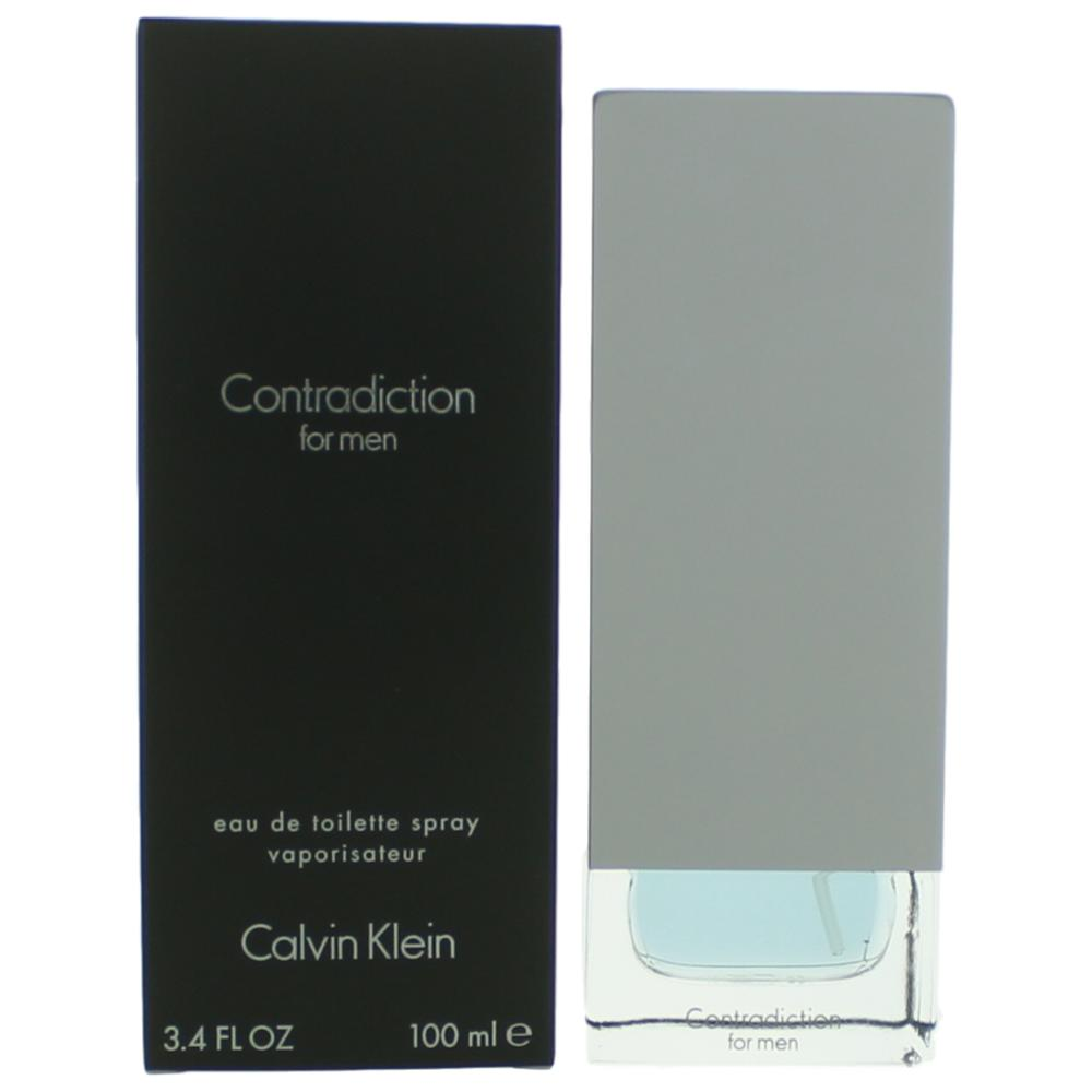 Contradiction by Calvin Klein, 3.4 oz EDT Spray for Men