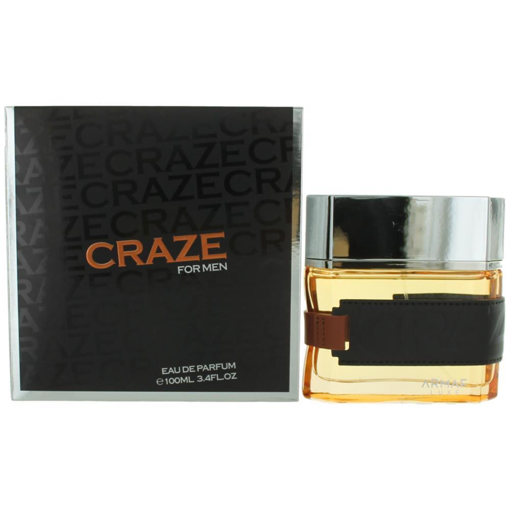 Craze by Armaf, 3.4 oz Eau De Parfum Spray for Men