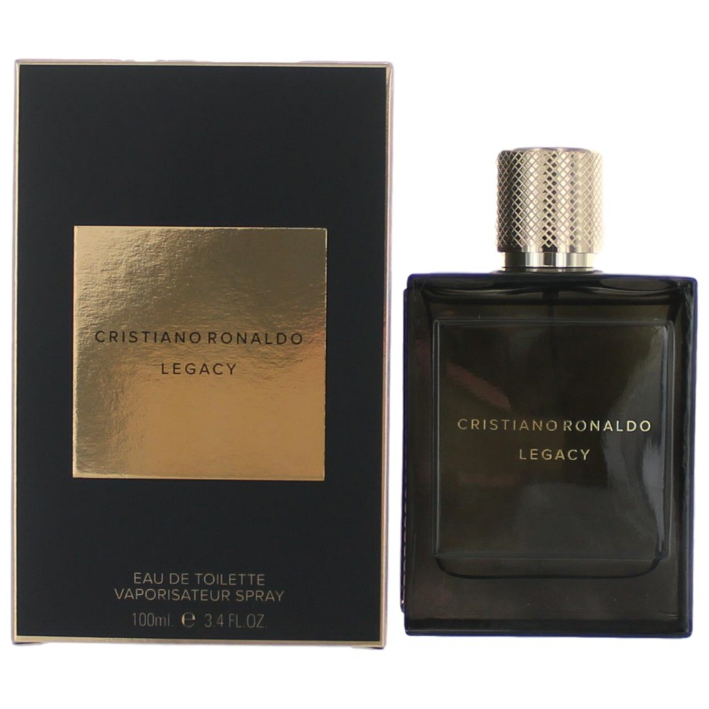 Cristiano Ronaldo Legacy by Cristiano Ronaldo, 3.4 oz Eau De Toilette Spray for Men