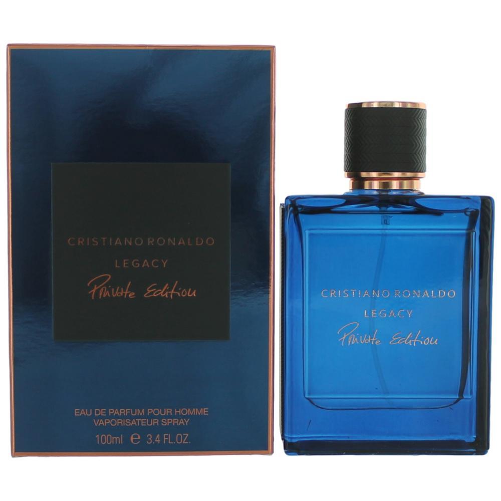 Cristiano Ronaldo Legacy Private Edition by Cristiano Ronaldo, 3.4 oz Eau De Parfum Spray for Men