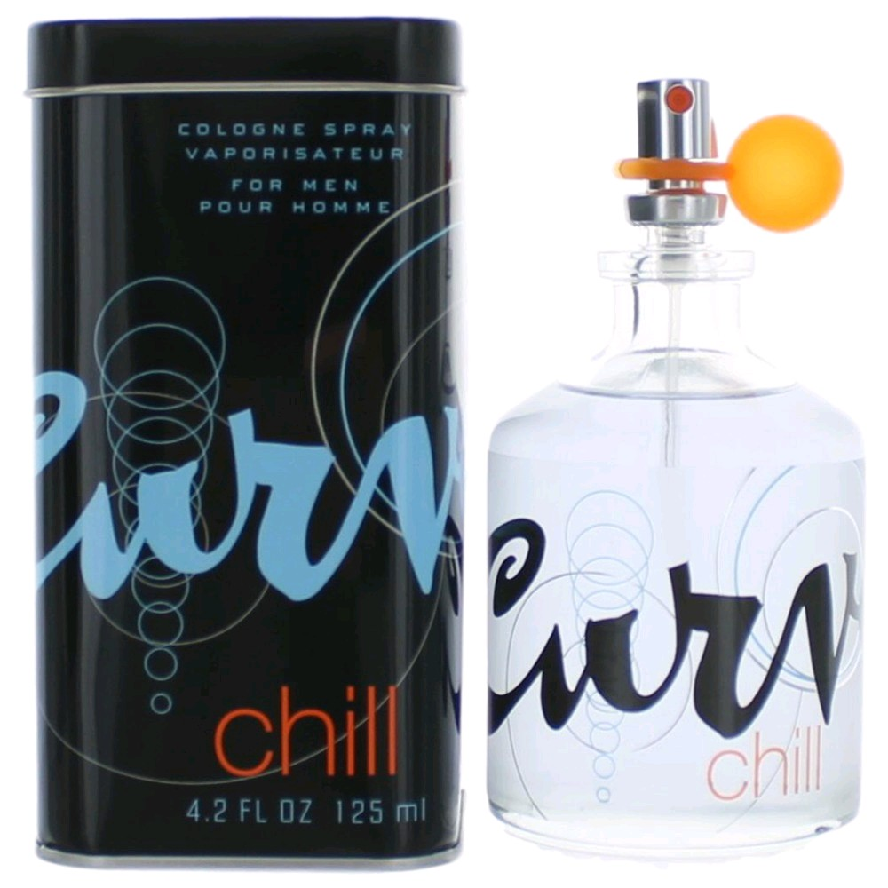 Curve Chill by Liz Claiborne, 4.2 oz Cologne Spray for Men