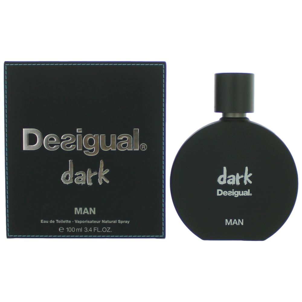 Desigual Dark by Desigual, 3.4 oz Eau De Toilette spray for Men