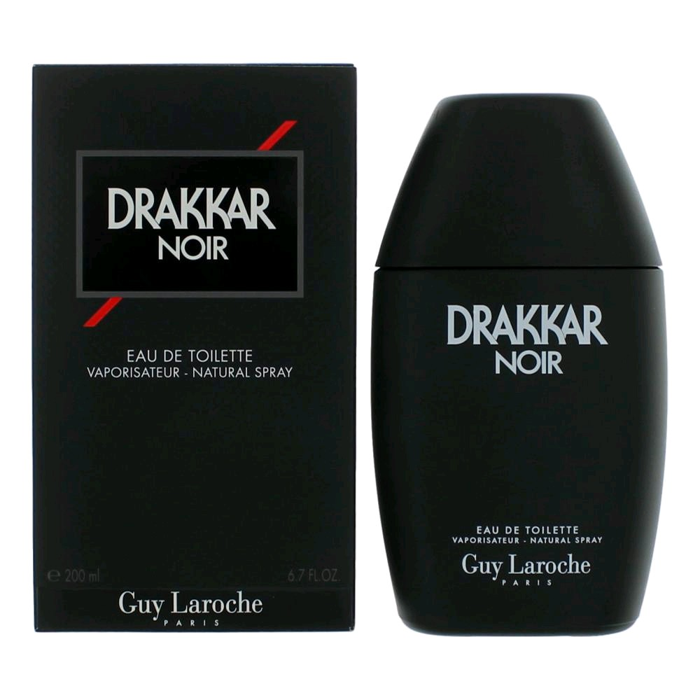Drakkar Noir by Guy Laroche, 6.7 oz Eau De Toilette Spray for Men