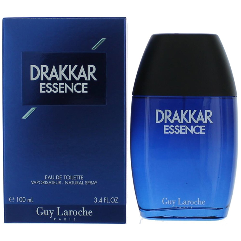 Drakkar Essence by Guy Laroche, 3.4 oz Eau De Toilette Spray for Men