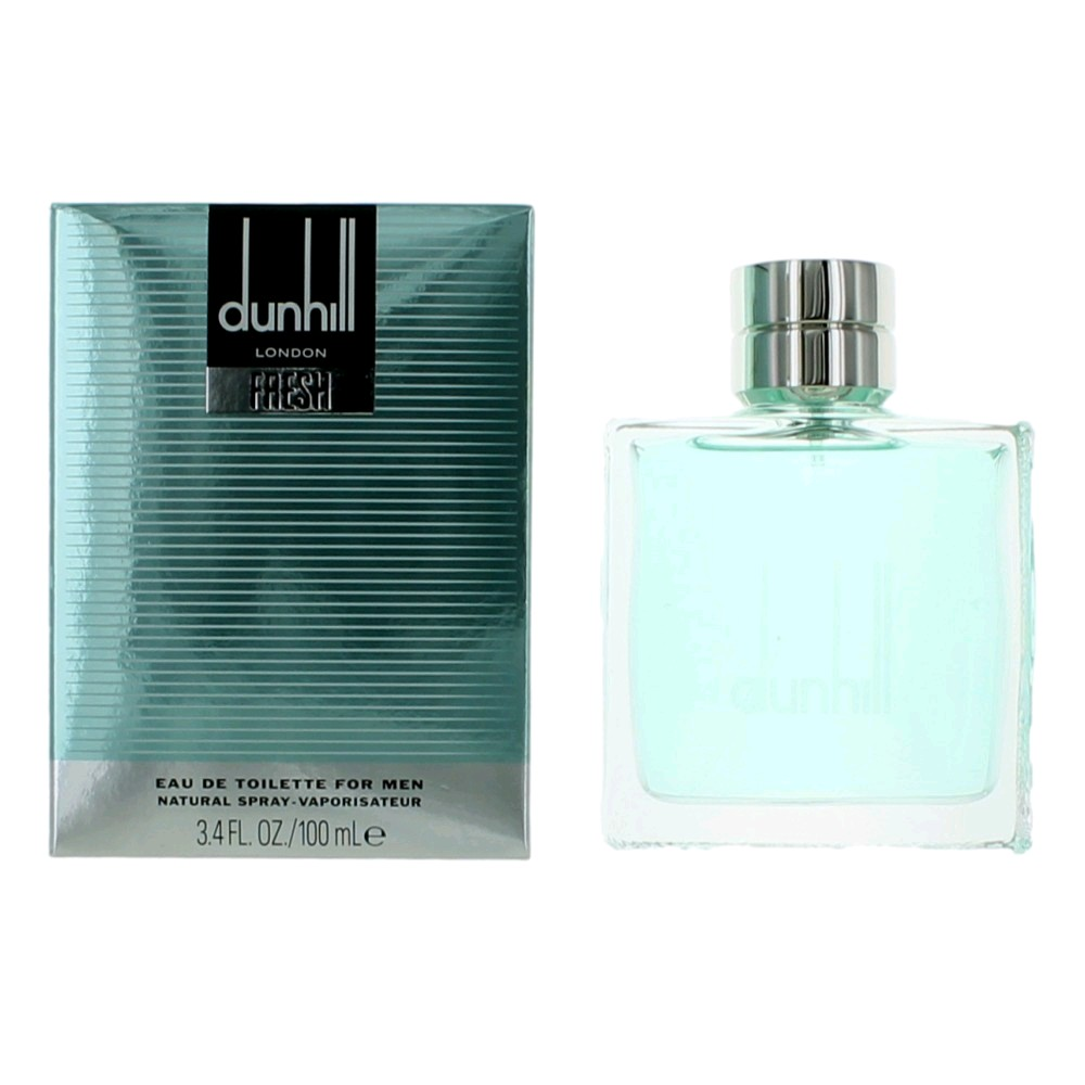 Dunhill Fresh by Alfred Dunhill, 3.4 oz Eau De Toilette Spray for Men