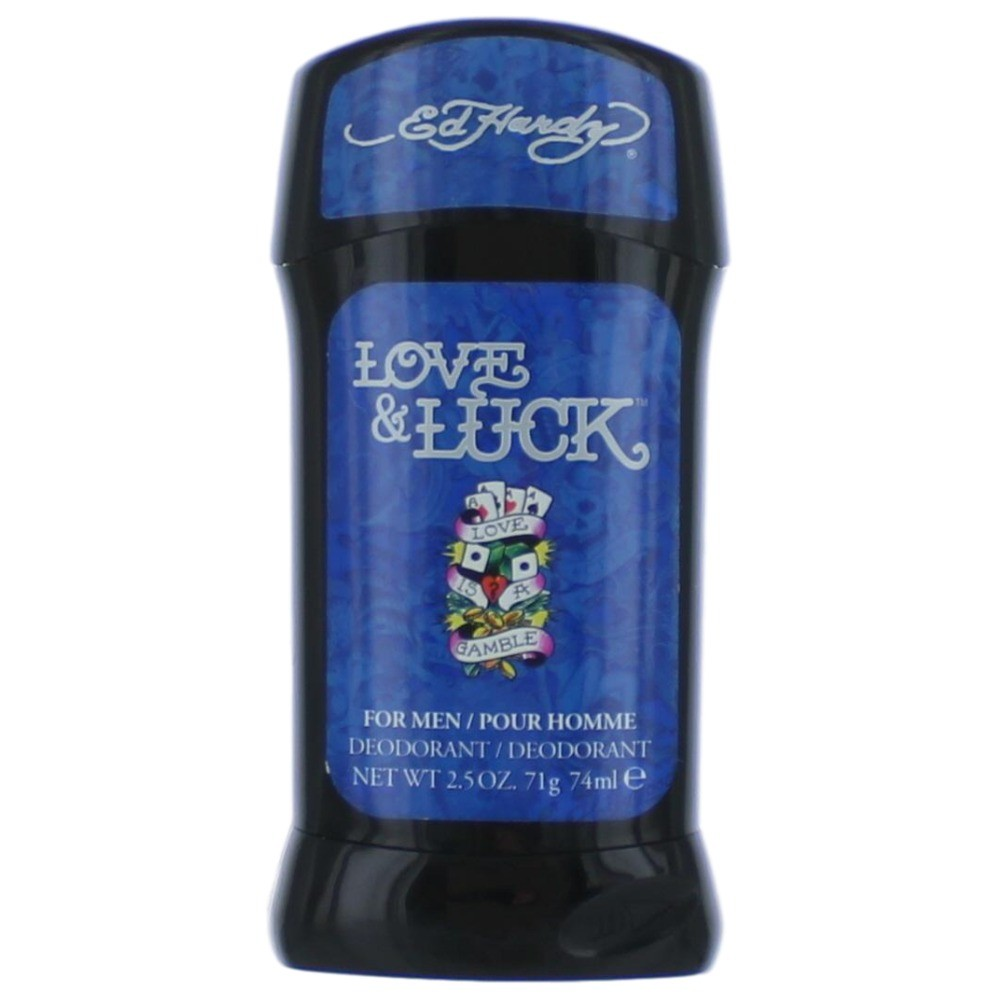Ed Hardy Love & Luck by Christian Audigier, 2.5 oz Deodorant Stick for Men