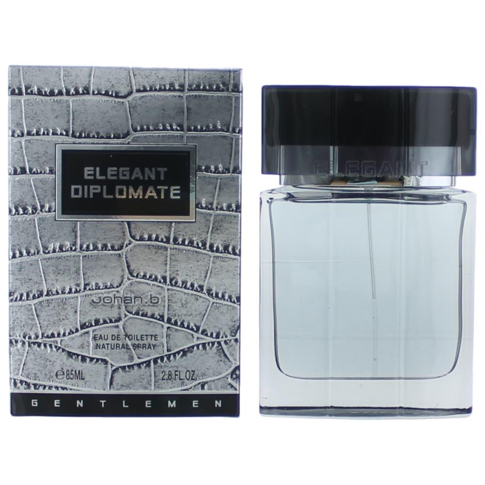Elegant Diplomate by Johan.b, 2.8 oz Eau De Toilette Spray for Men