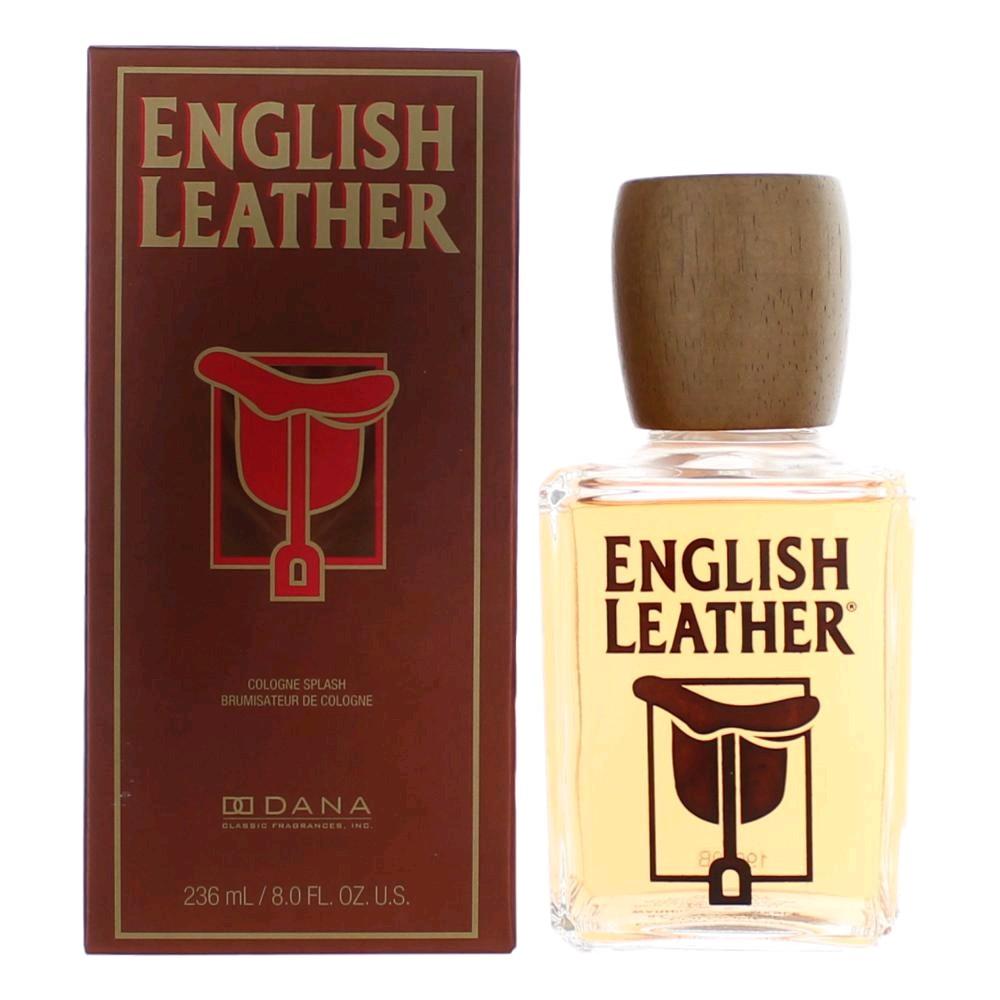English Leather by Dana, 8 oz Cologne Splash for Men