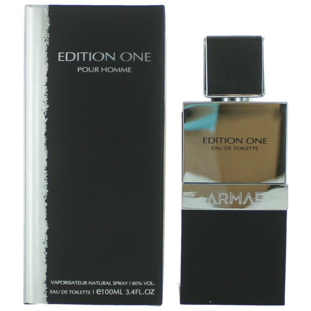 Edition One Pour Homme by Armaf, 3.4 oz Eau De Toilette Spray for Men
