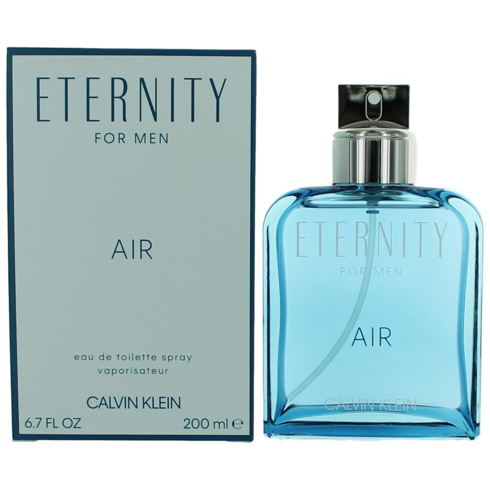 Eternity Air by Calvin Klein, 6.7 oz EDT Spray for Men
