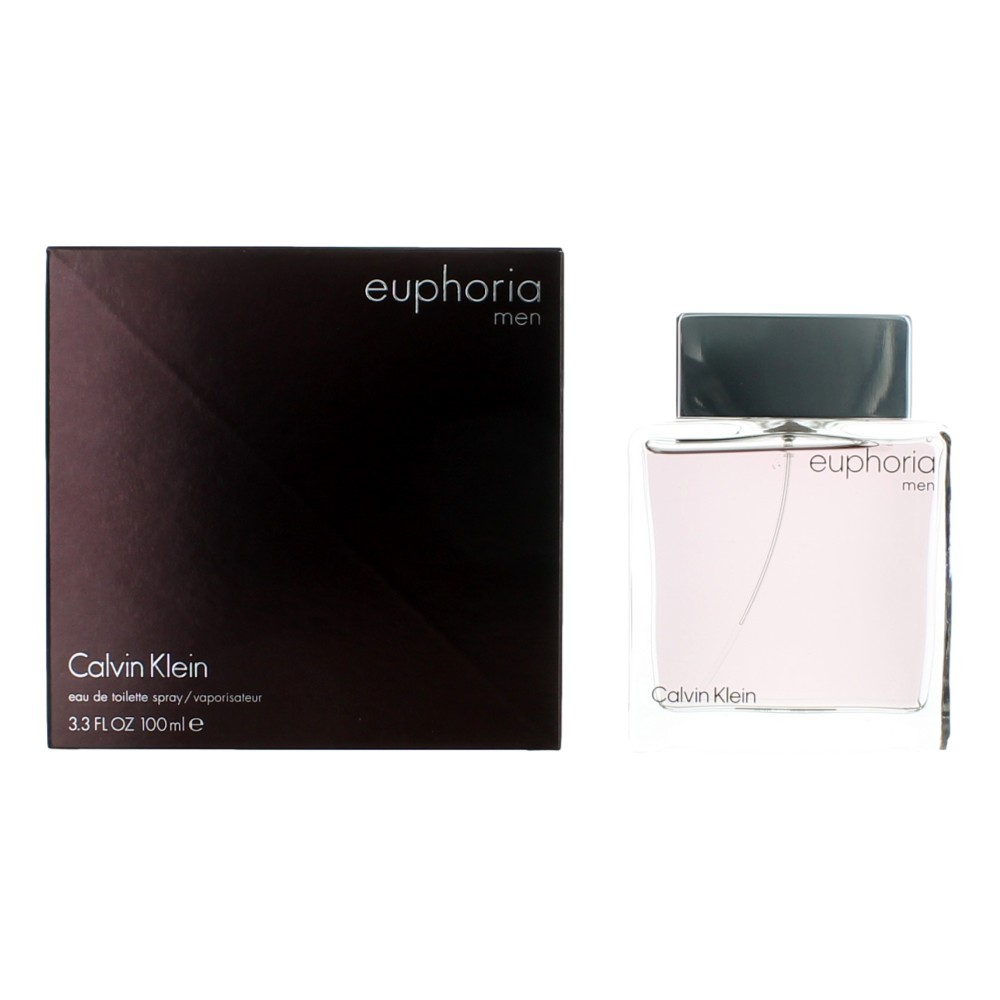 Euphoria by Calvin Klein, 3.4 oz EDT Spray for Men