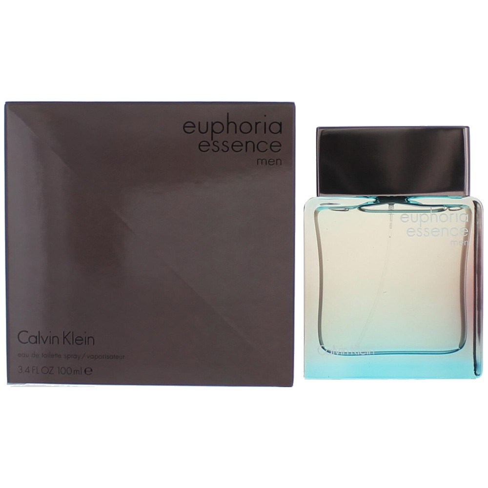 Euphoria Essence by Calvin Klein, 3.4 oz EDT Spray for Men