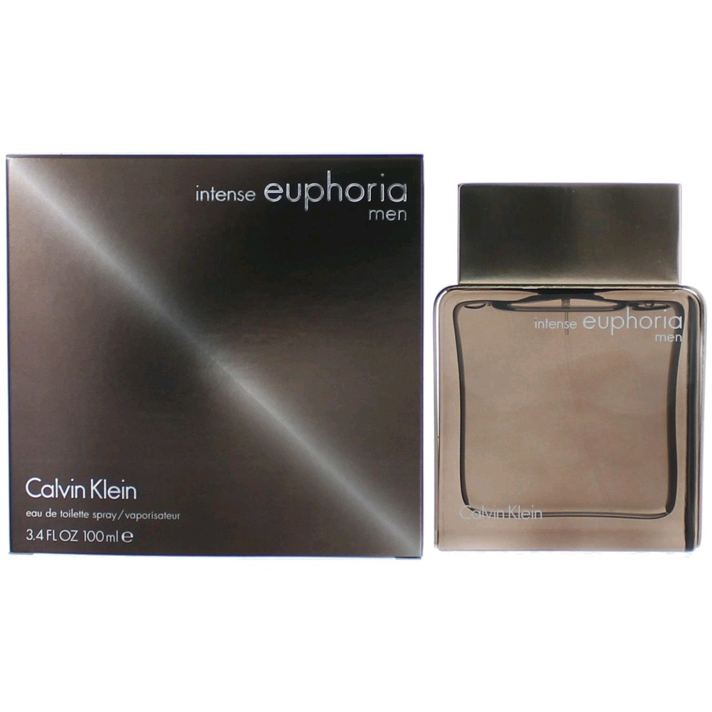 Euphoria Intense by Calvin Klein, 3.4 oz EDT Spray for Men