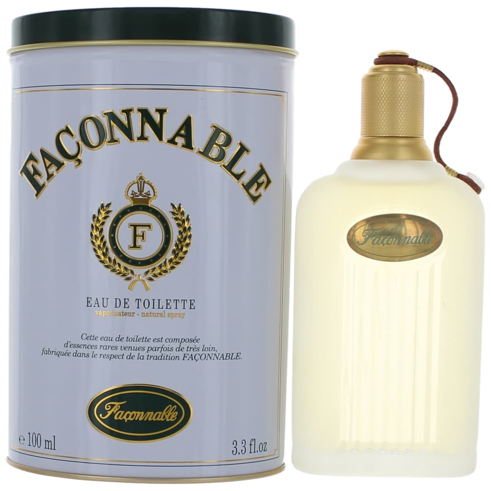 Faconnable by Faconnable, 3.3 oz EDT Spray for Men Cologne