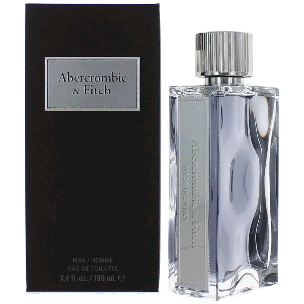 First Instinct by Abercrombie & Fitch, 3.4 oz EDT Spray for Men