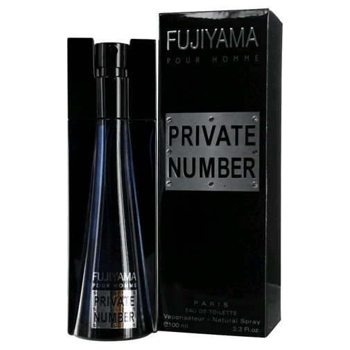 Fujiyama Private Number by Parfum Fujiyama, 3.3 oz Eau De Toilette Spray for Men