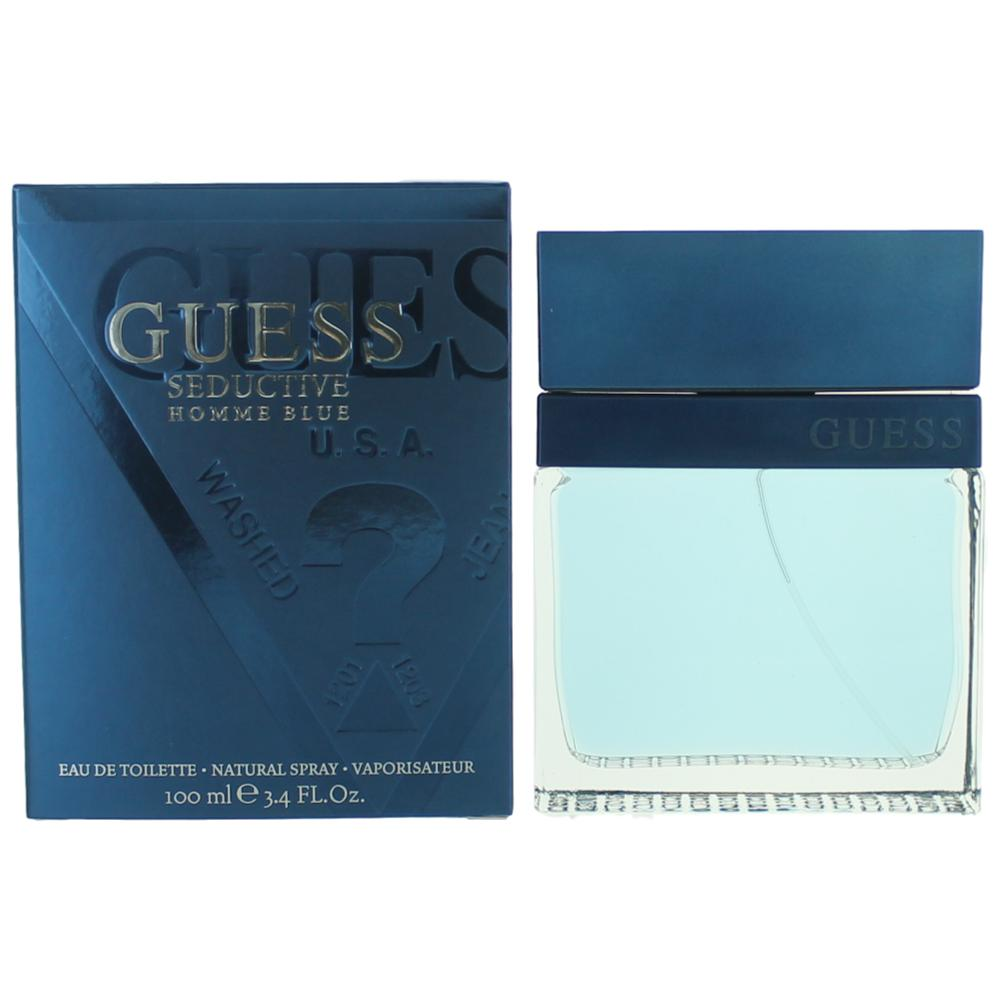 Guess Seductive Homme Blue by Guess, 3.4