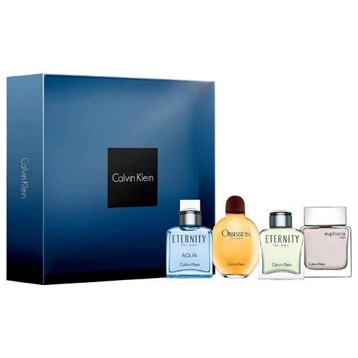 Calvin Klein by Calvin Klein, 4 Piece Mini Variety Gift Set for Men 0.5oz EDT