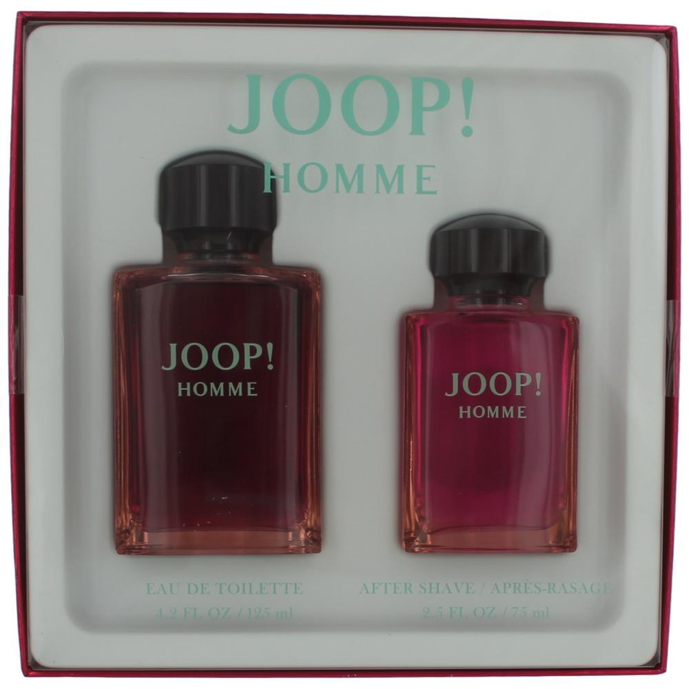 Joop! by Joop, 2 Piece Gift Set for Men 4.2oz EDT Spray Aftershave