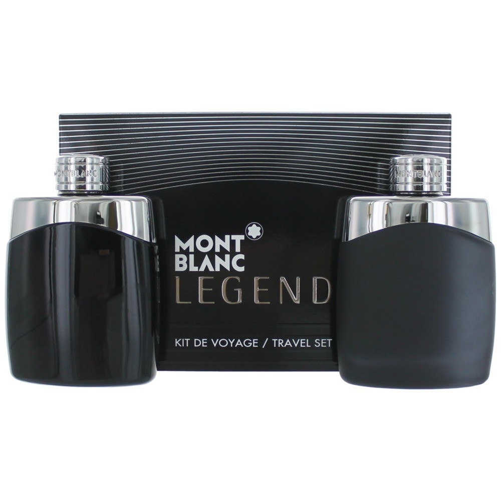 Mont Blanc Legend by Mont Blanc, 2 Piece Gift Set for Men amgmbl2