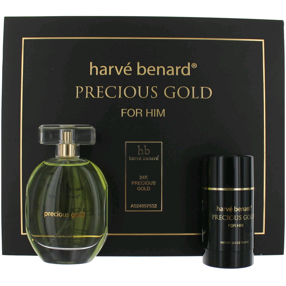 Precious Gold by Harve Bernard, 2 Piece Gift Set for Men