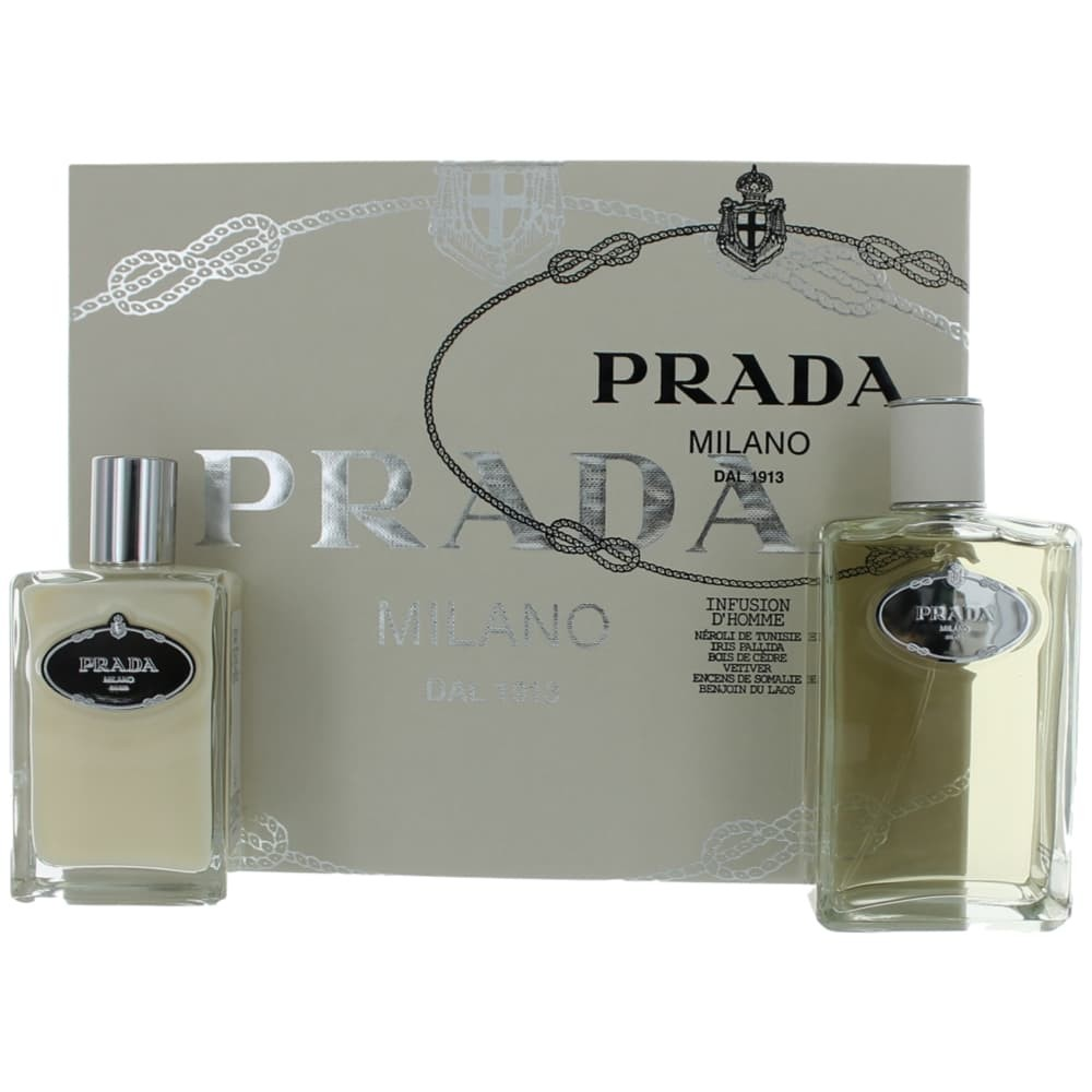 Prada Milano Infusion D'Homme by Prada, 2 Piece Gift Set for Men amgpid2