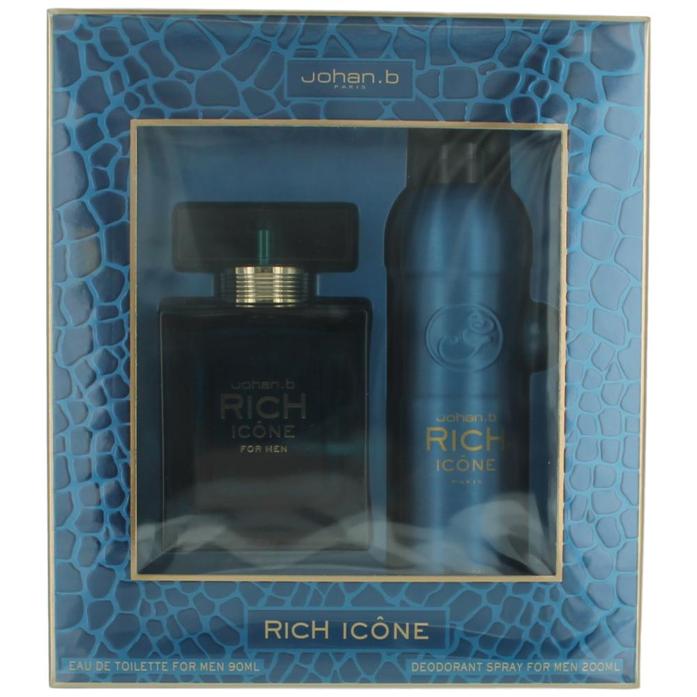 Rich Icone by Johan.b, 2 Piece Gift Set for Men
