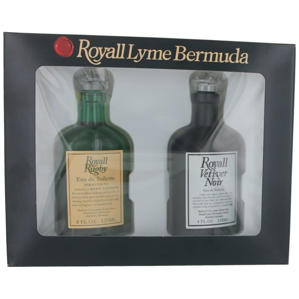 Royall Lyme Bermuda by Royall Fragrances, 2 Piece Gift Set for Men amgroyrbvn2