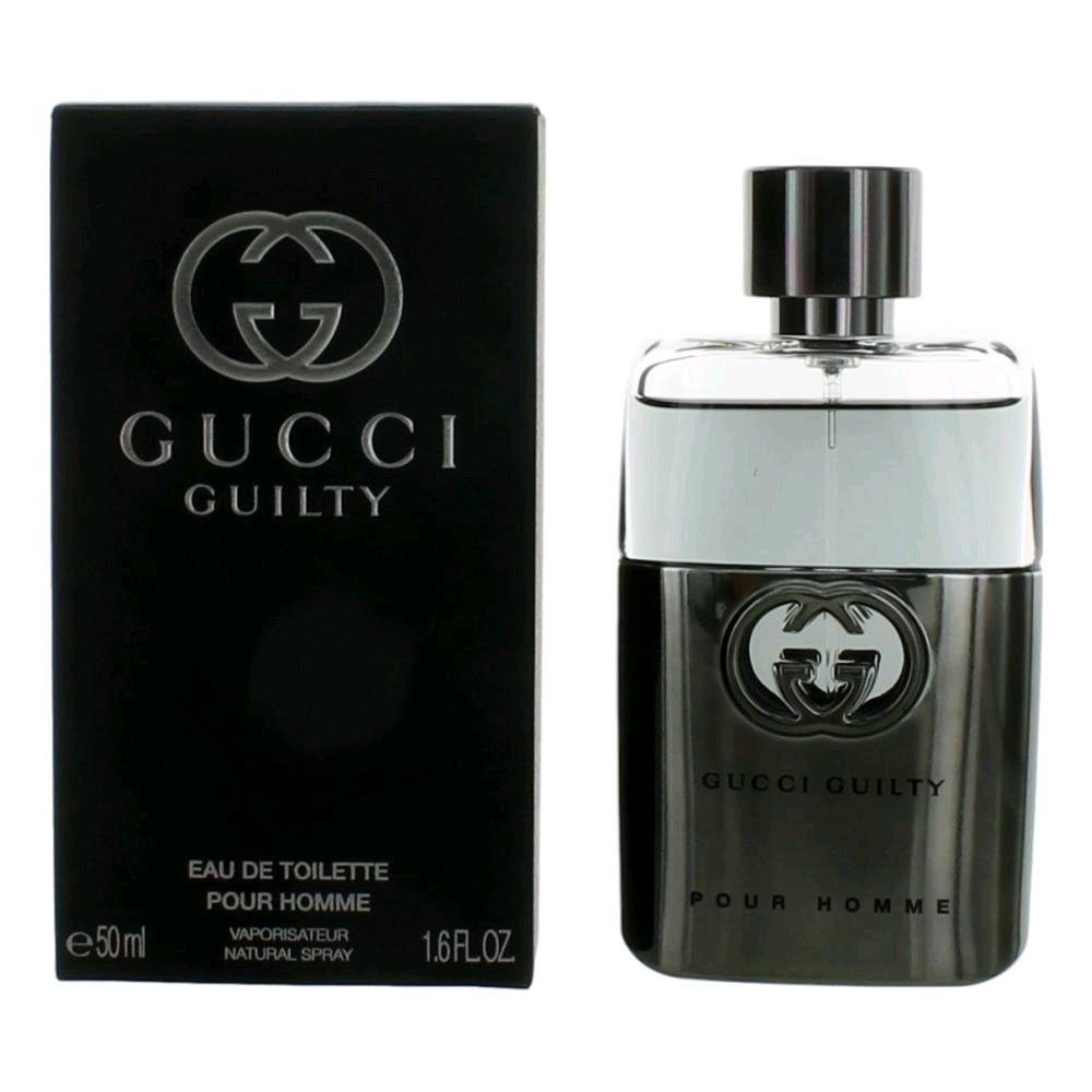 Gucci Guilty by Gucci, 1.6 oz EDT Spray for Men