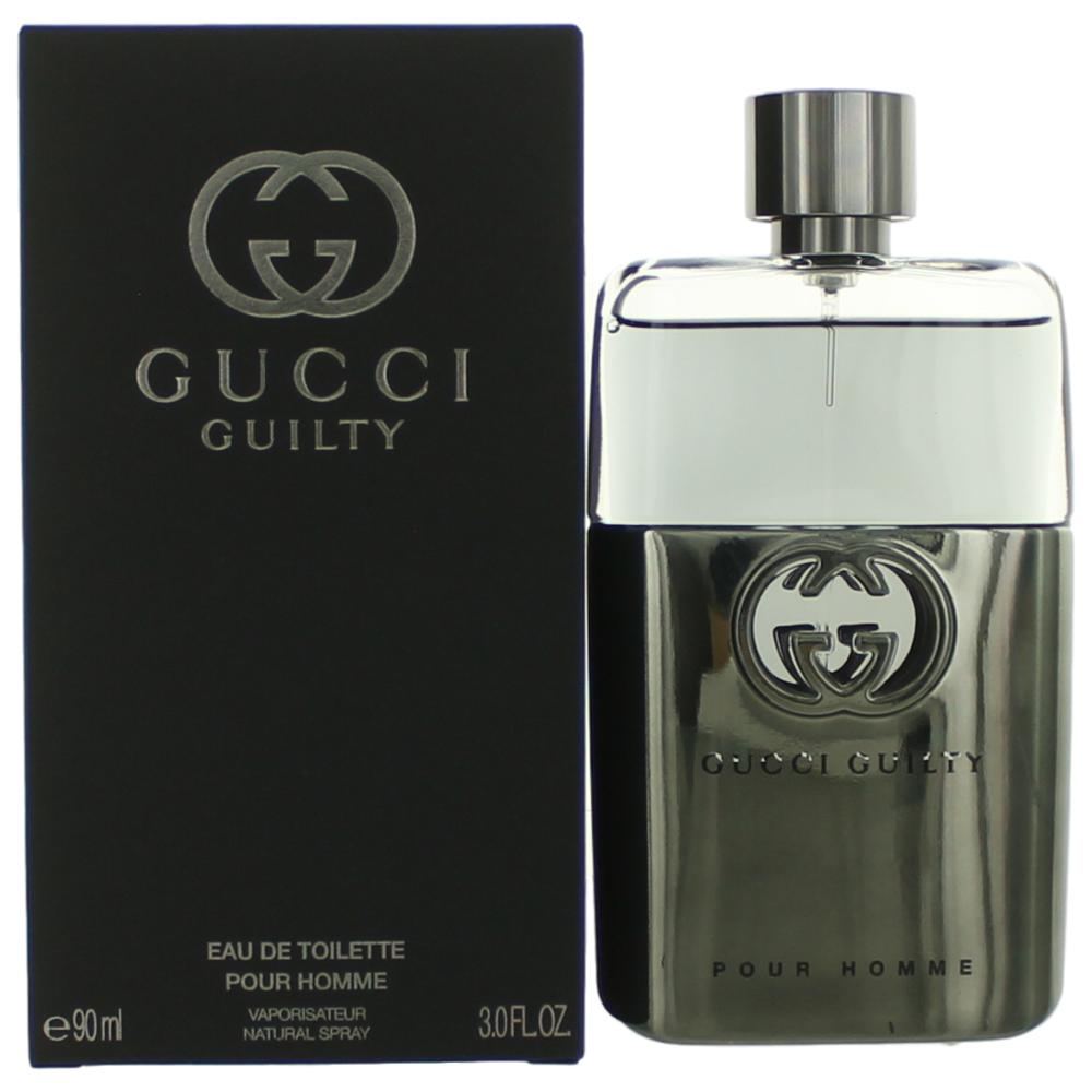 Gucci Guilty by Gucci, 3 oz EDT Spray for Men