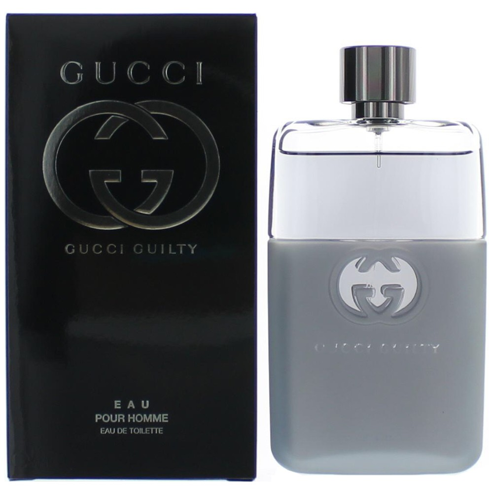 Gucci Guilty Eau by Gucci, 3 oz EDT Spray for Men