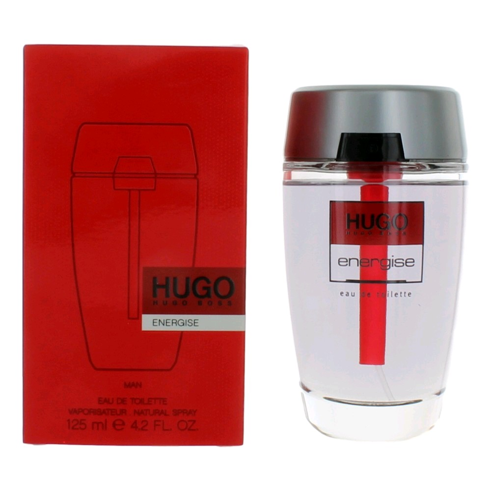 Hugo Energise by Hugo Boss, 4.2 oz Eau De Toilette Spray for Men