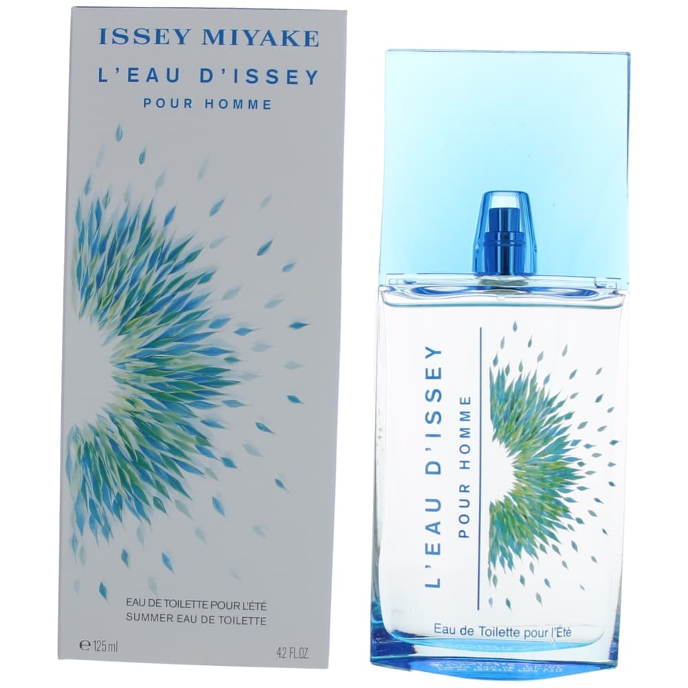 L'eau D'issey Pour Homme Summer 2016 by Issey Miyake, 4.2 oz EDT Spray for Men