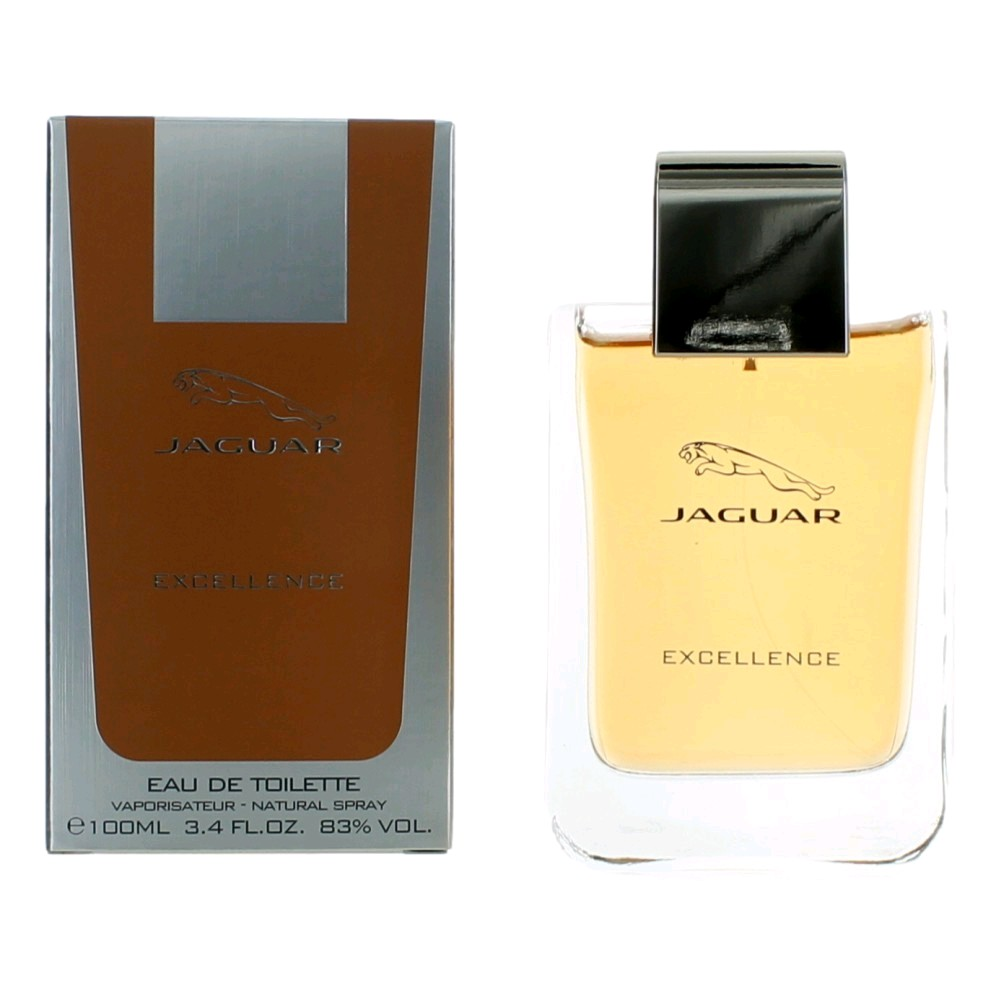Jaguar Excellence by Jaguar, 3.4 oz Eau De Toilette Spray for Men