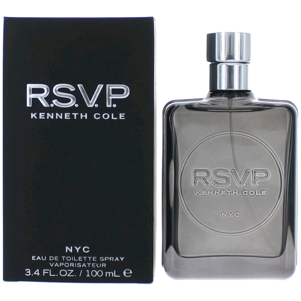 Rsvp By Kenneth Cole, 3.4 Oz Edt Spray For Men