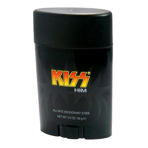Kiss Him by Kiss, 3 oz All Nite Deodorant Stick for men.