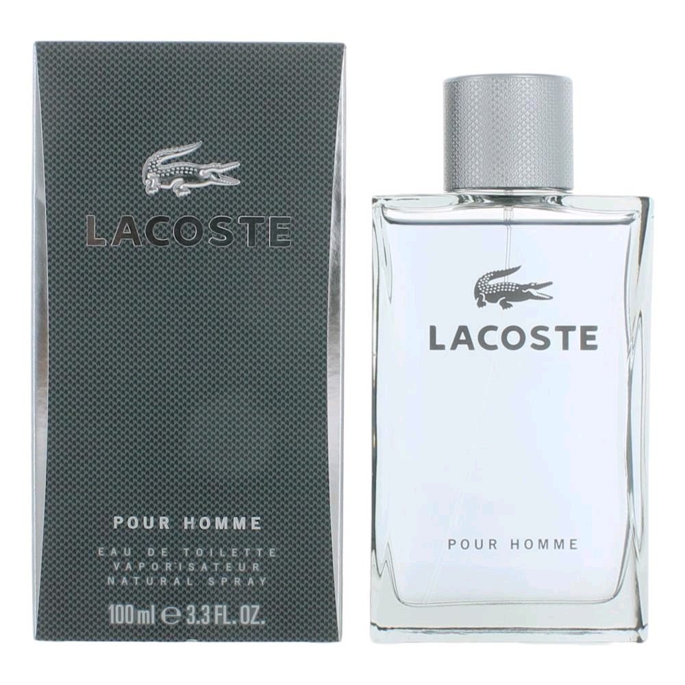 Lacoste Pour Homme by Lacoste, 3.3 oz Eau De Toilette Spray for Men