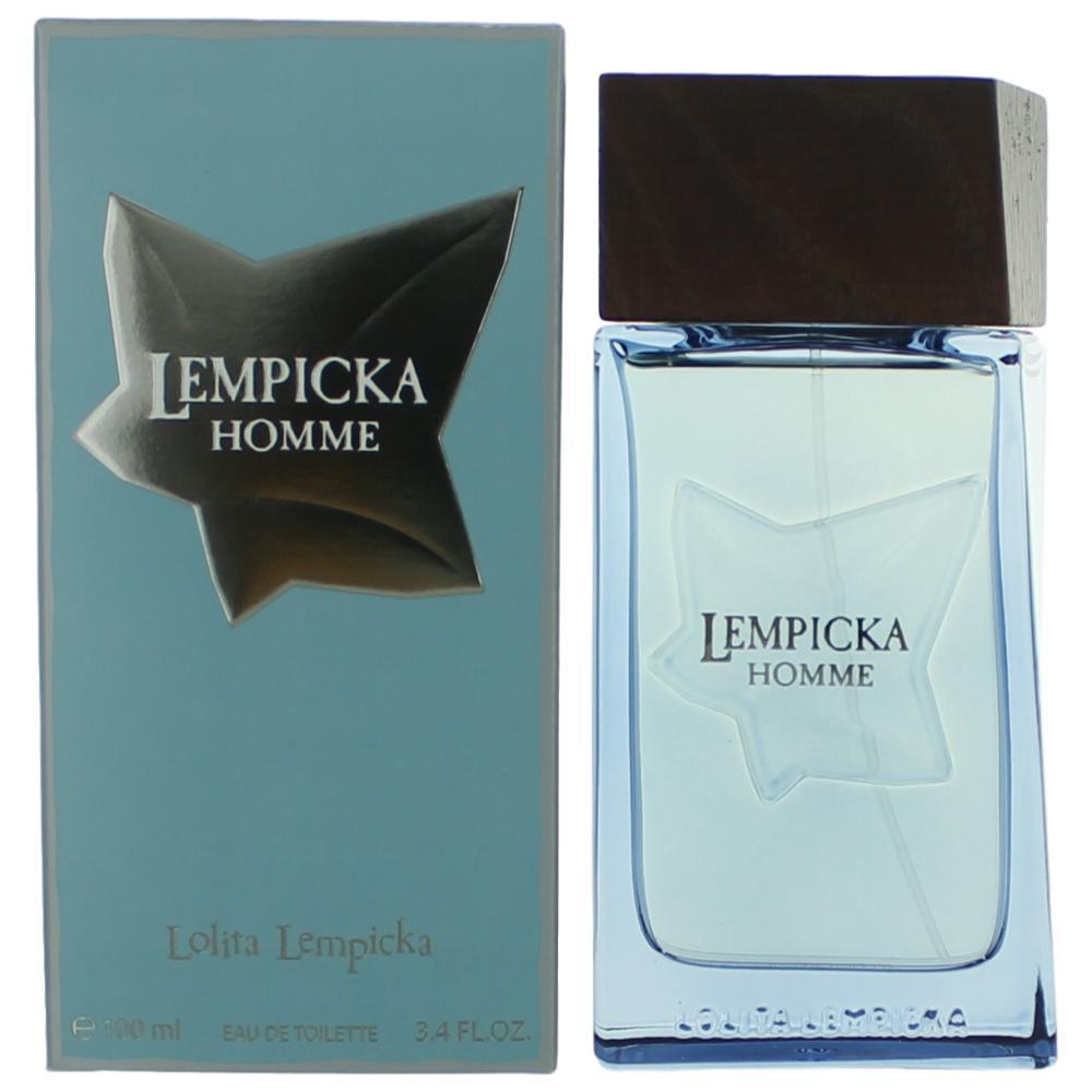 Lempicka Homme by Lolita Lempicka, 3.4 oz Eau De Toilett Spray for Men