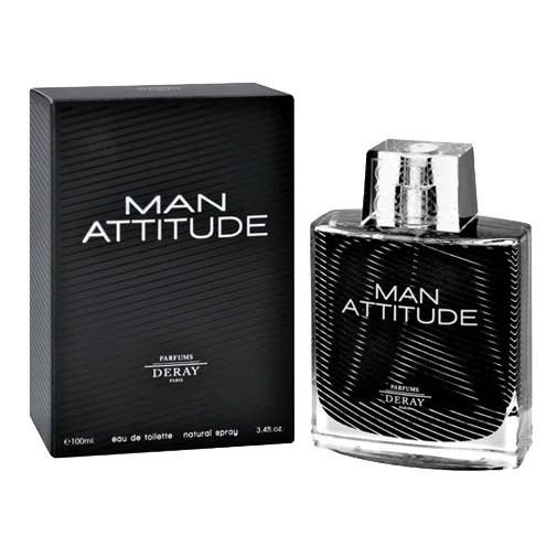 Man Attitude by Deray, 3.4 oz Eau De Toilette Spray for Men