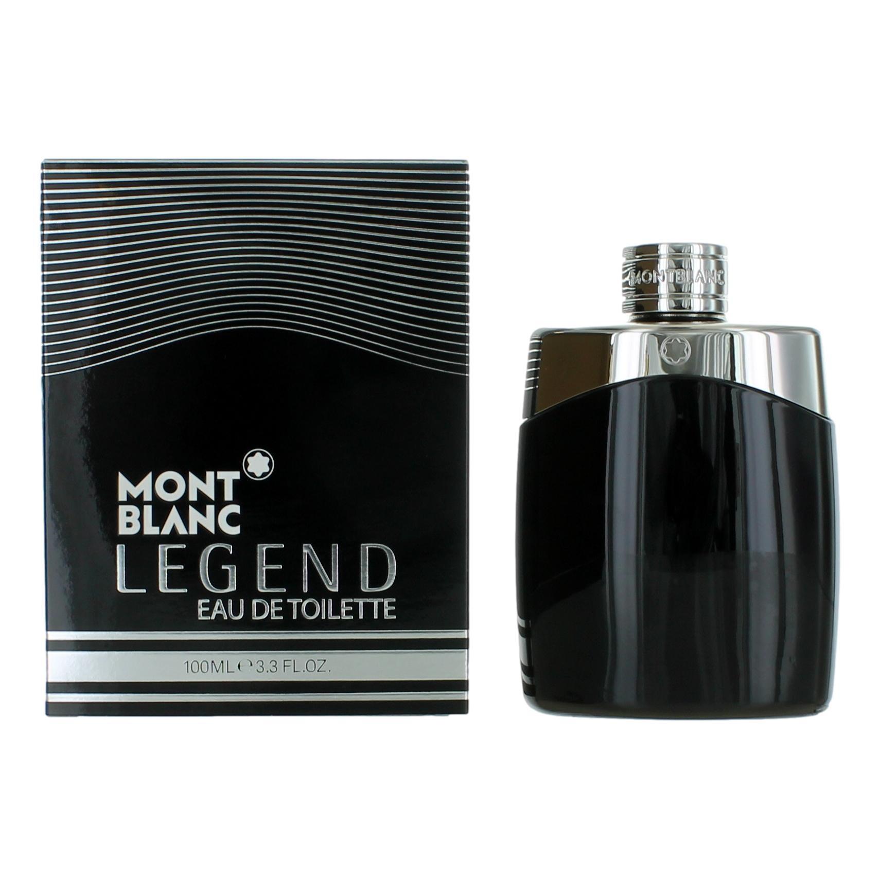 Mont Blanc Legend by Mont Blanc, 3.3 oz EDT Spray for Men