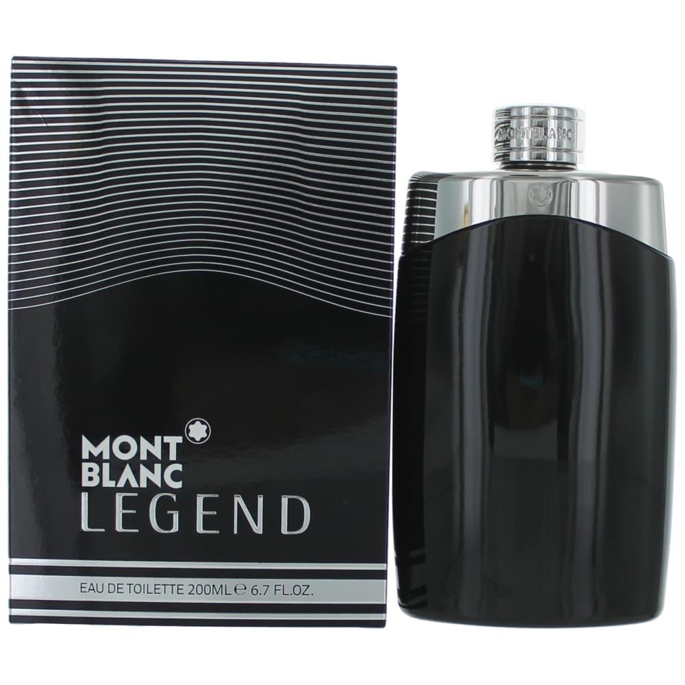Mont Blanc Legend by Mont Blanc, 6.7 oz EDT Spray for Men