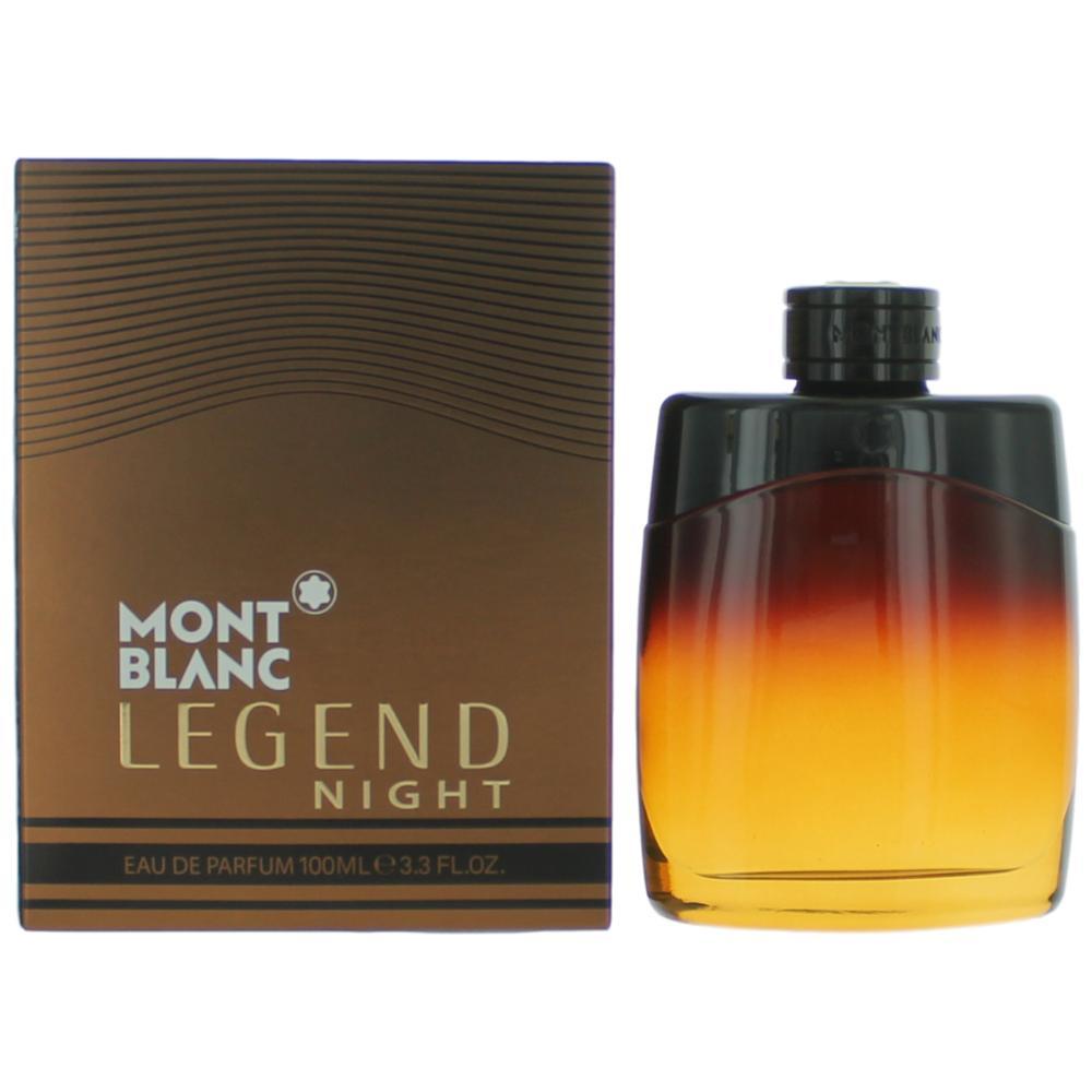 buy online b7042 3612f Mont Blanc Legend Night by Mont Blanc, 3.3 oz Eau De Parfum Spray for Men
