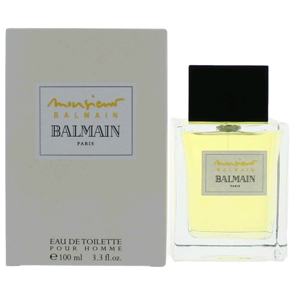 Monsieur Balmain by Balmain, 3.4 oz Eau De Toilette Spray for Men