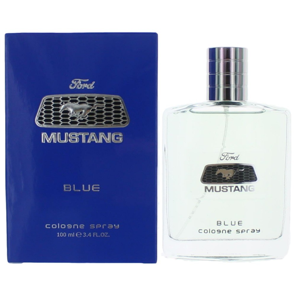 Mustang Blue by Mustang, 3.4 oz Cologne Spray for Men