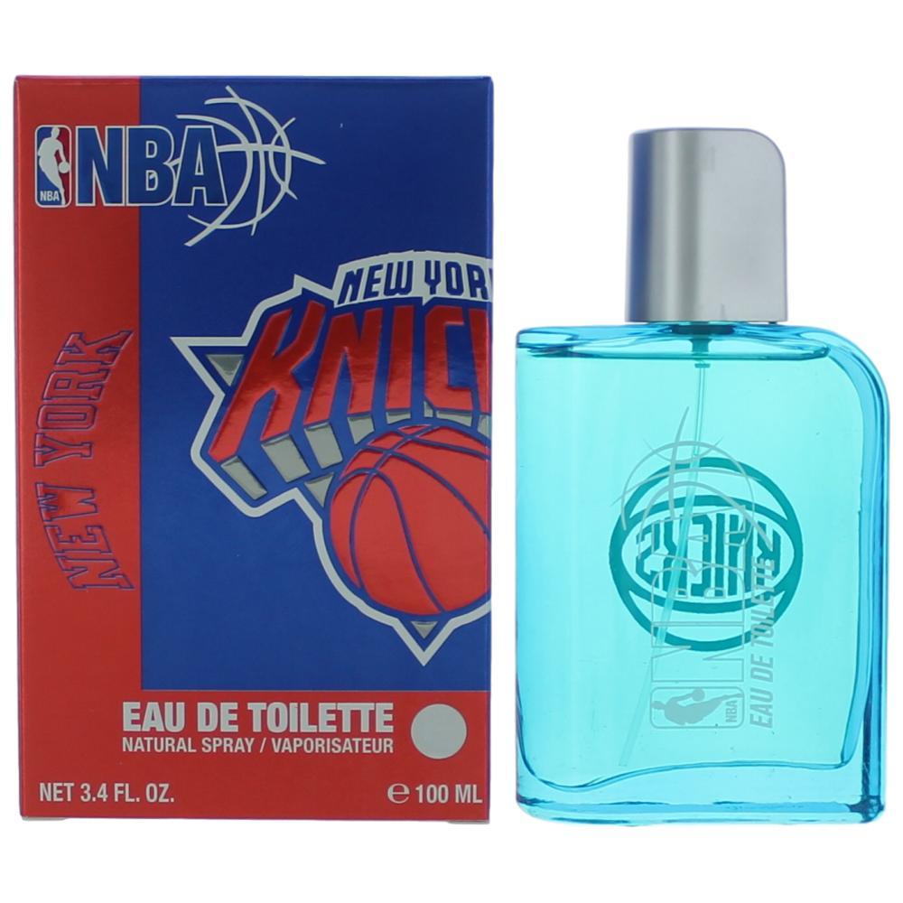 New York Knicks by NBA, 3.4 oz Eau De Toilette Spray for Men
