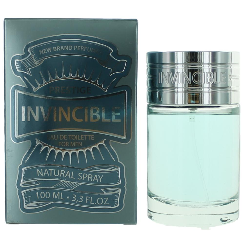 Invincible by New Brand, 3.3 oz Eau De Toilette Spray for Men