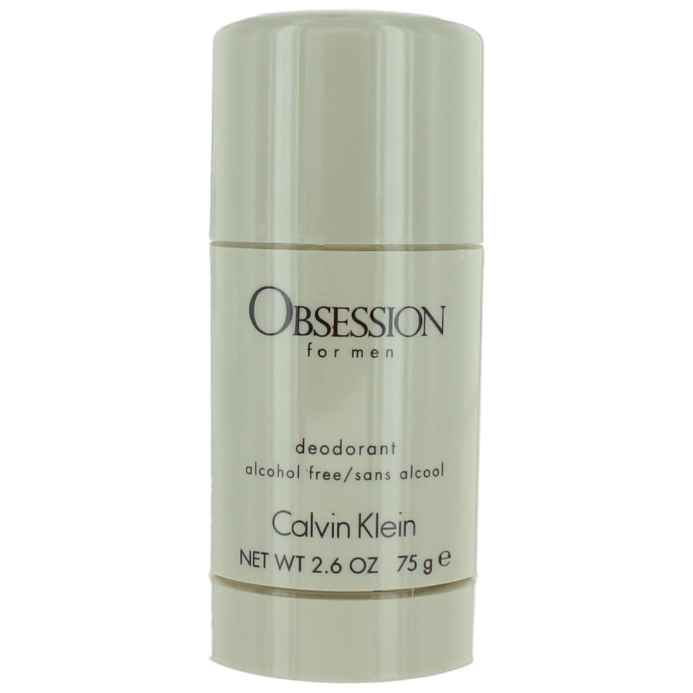 Obsession by Calvin Klein, 2.6 oz Deodorant Stick for Men