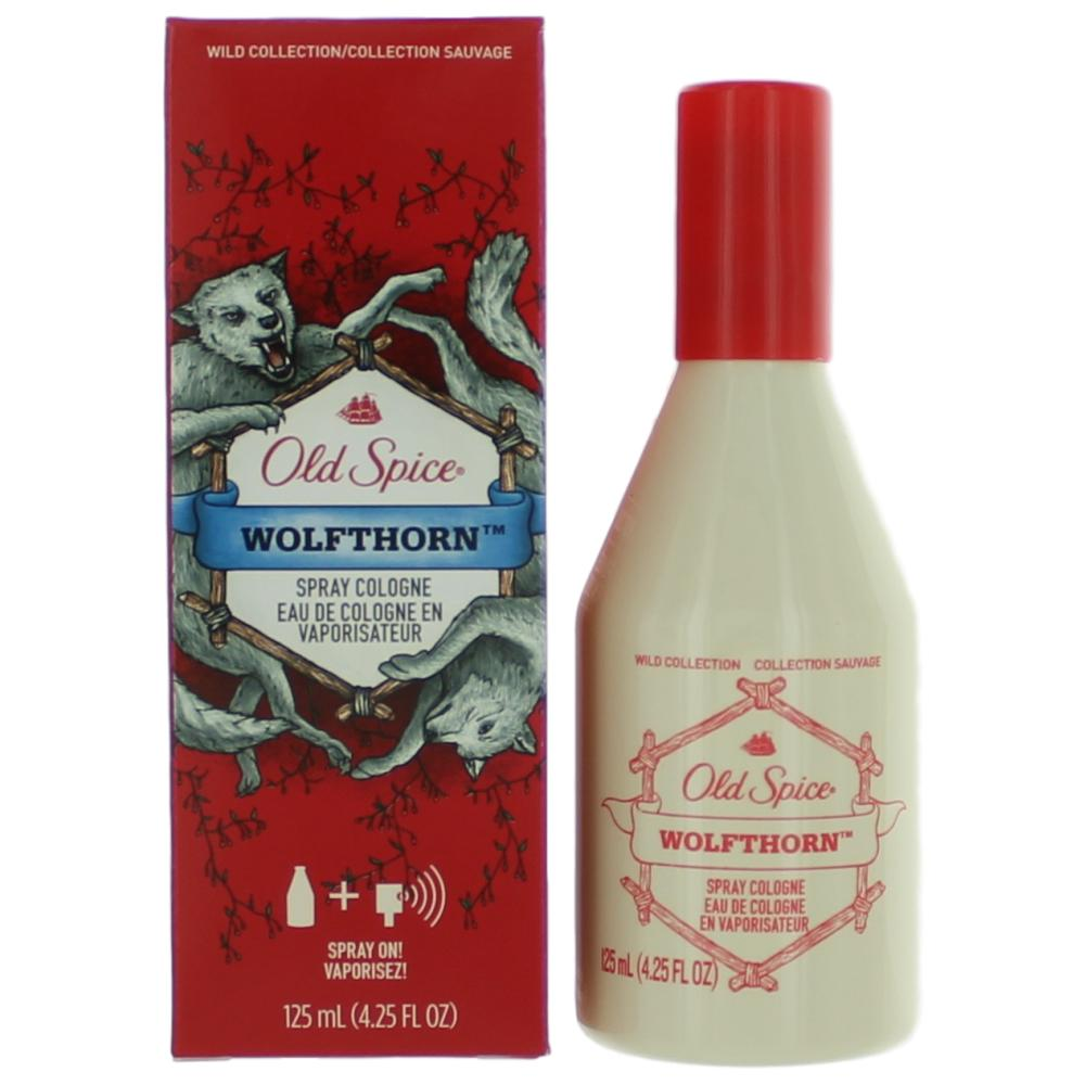 Old Spice Wolfthorn by Old Spice, 4.25 oz Cologne Spray for Men