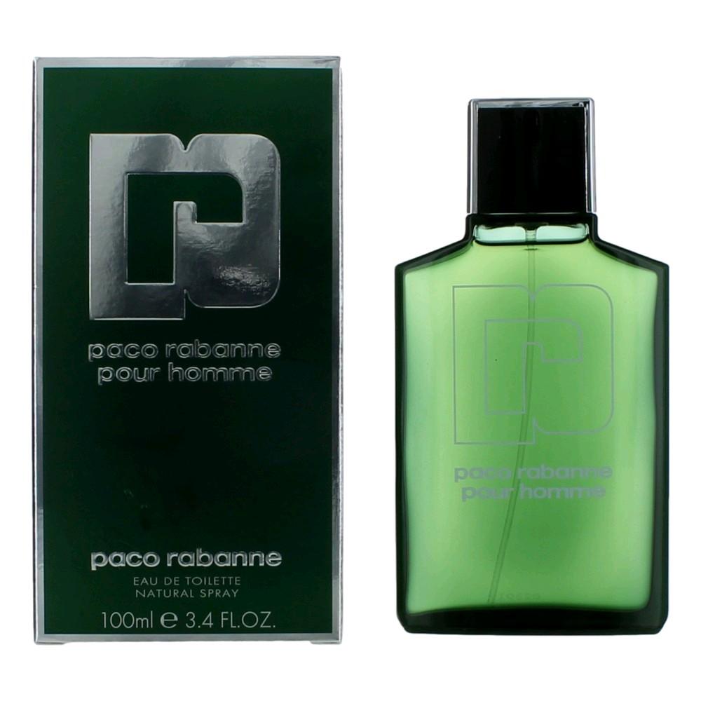 Paco Rabanne Pour Homme by Paco Rabanne, 3.3 oz Eau De Toilette Spray for Men