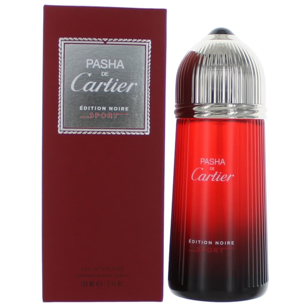 Pasha Noire Sport by Cartier, 5 oz EDT Spray for Men